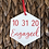 Thumbnail: Hexagon Save the Date Ornament