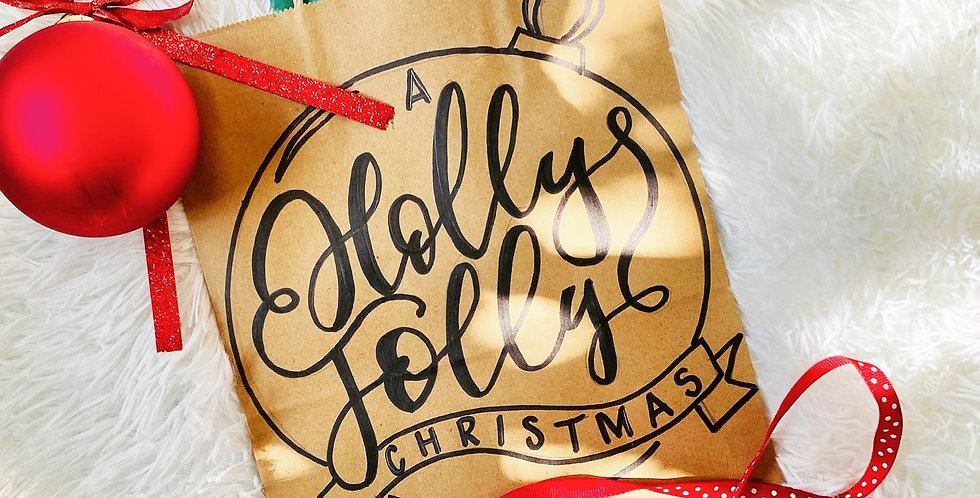 A Holly Jolly Christmas Gift Bag