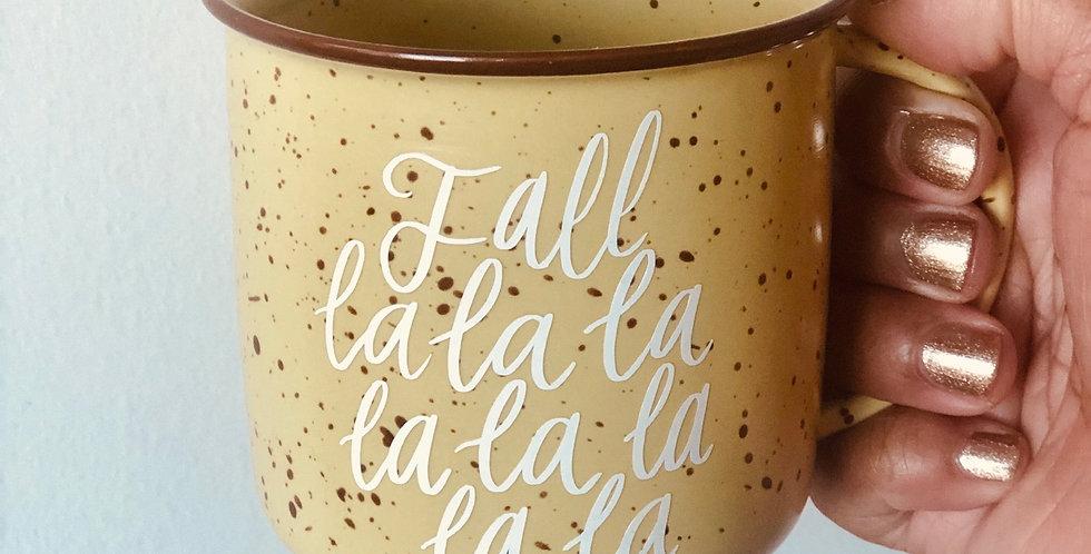 Fall La La- Campfire Mug