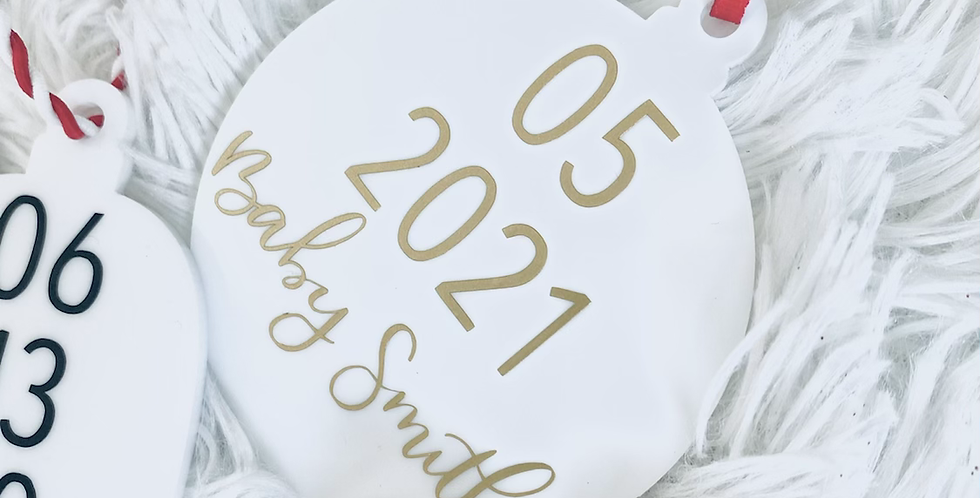 Ornament Save the Date