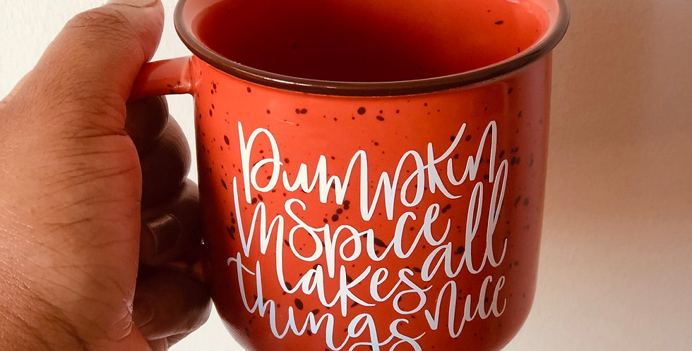 Pumpkin Spice- Campfire Mug