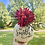 Thumbnail: Small Lettered Floral Pumpkin