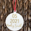 Thumbnail: Ornament Save the Date