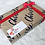 Thumbnail: Black Santa Gift Tag Stickers