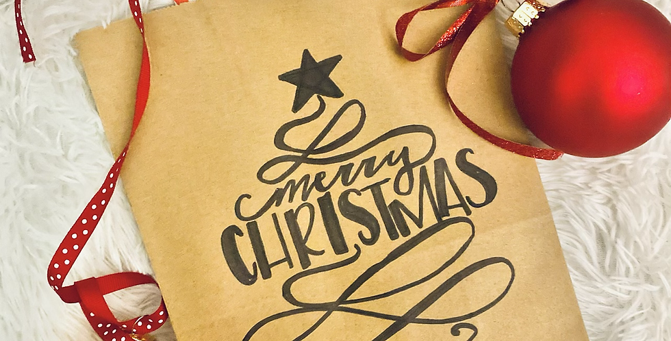 Merry Christmas Gift Bag