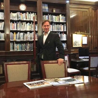 The RAF Club Library, London