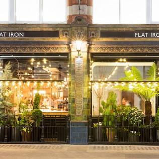 Flat Iron Restaurant Covent Garden