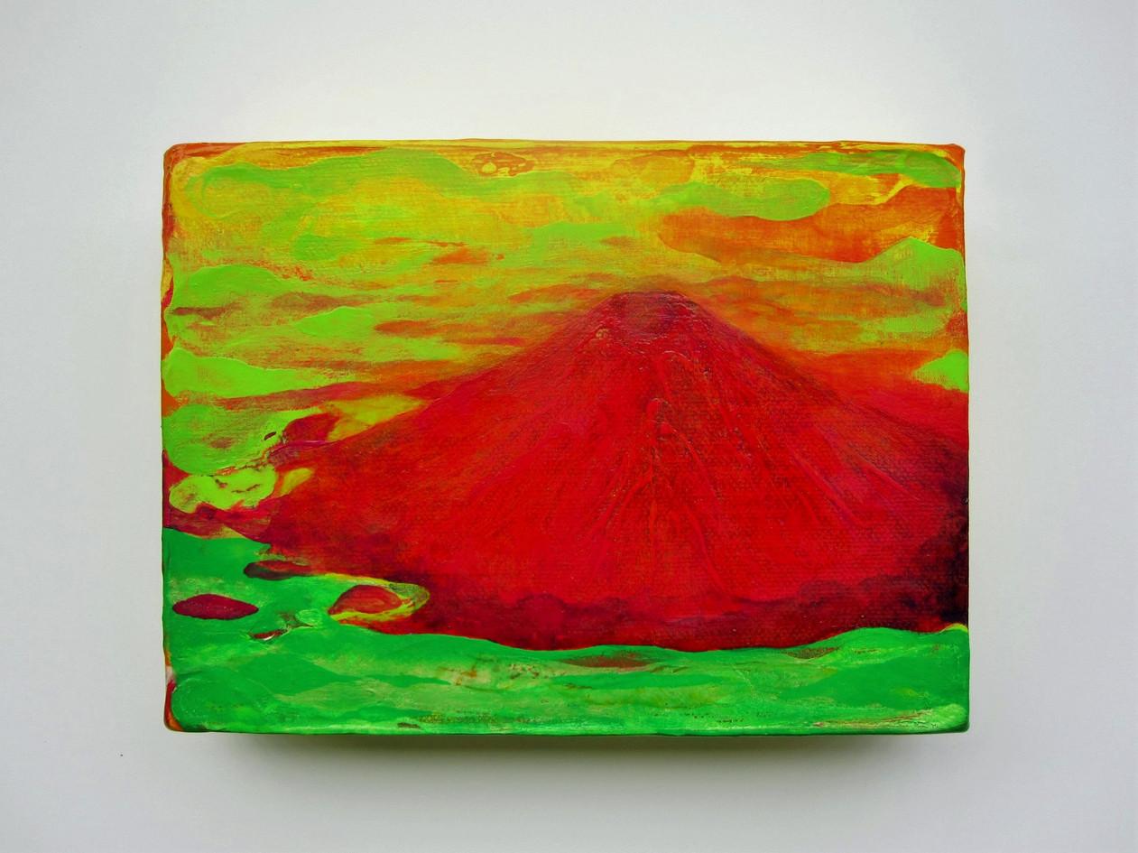 Red Mt.Fuji 2015