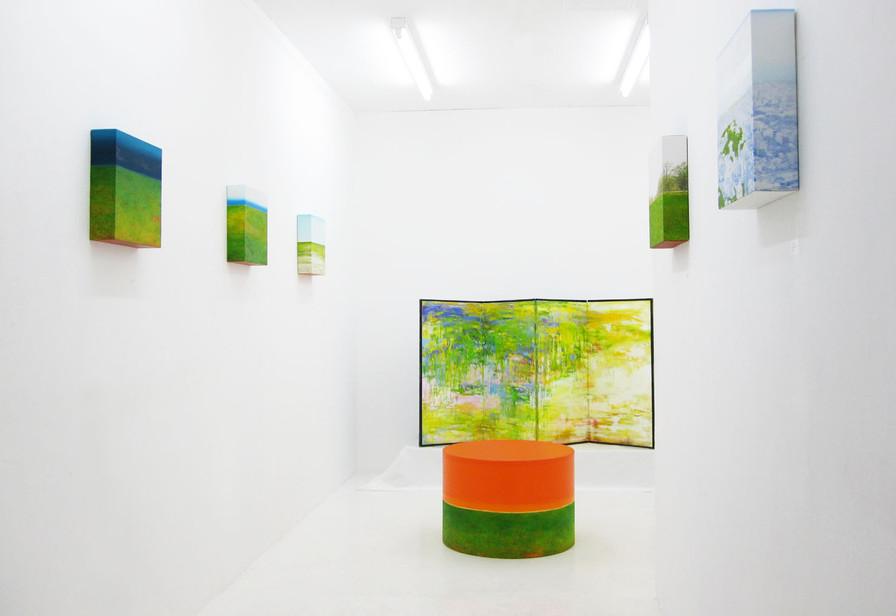 個展「out of the mountain」 2009