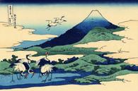 富嶽三十六景 「相州梅澤庄」