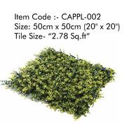 Cappl-002 Artificial Vertical Garden (Outdoor)Gra