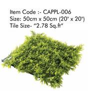 Cappl-006 Artificial Vertical Garden Gra
