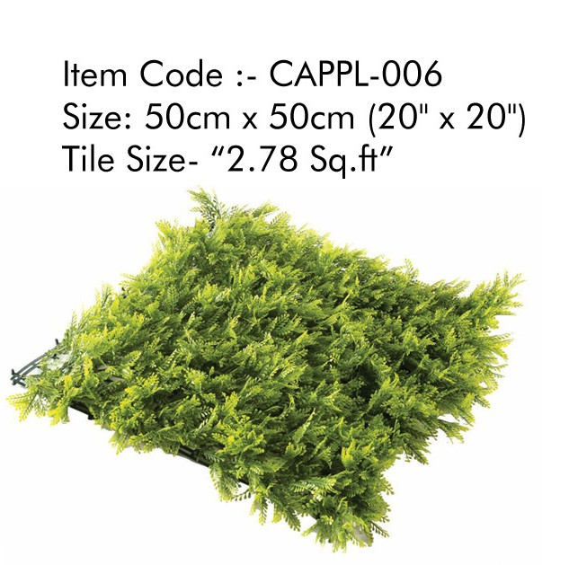 Cappl-006 Artificial Vertical Garden Gra