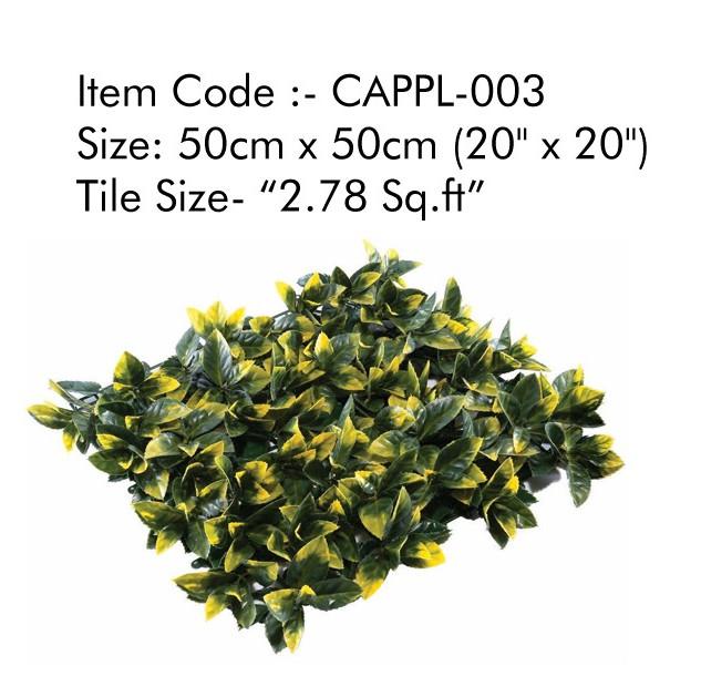 Cappl-0003 Artificial Vertical Garden Gr