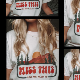 Miss This Tshirt Collage