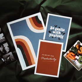 Be gentle with yourself print