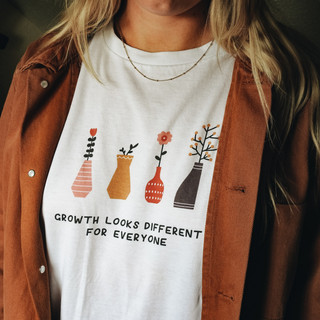 Growth Looks Different Tshirt