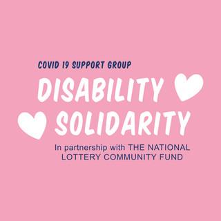 Pink Disability Solidarity Logo
