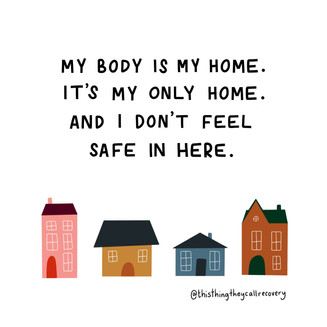 My Body Is My Home - This THing They Call Recovery