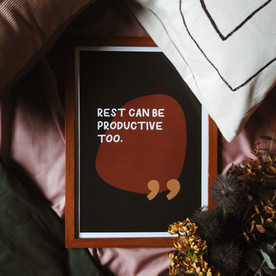 Rest Can Be Productive Print