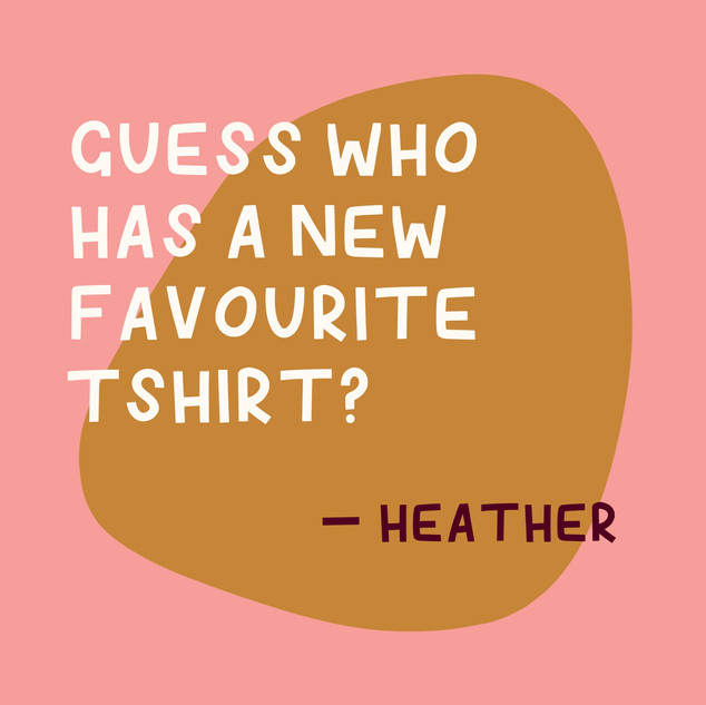 Favourite Tshirt Quote - This Thing They