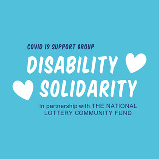 Blue Disability Solidarity Logo