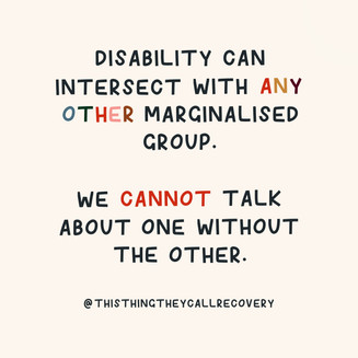 Ableism And Marginalisation - This Thing