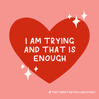 I'm Trying And That Is Enough - This Thi