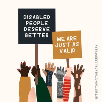 Disabled People Deserve Better