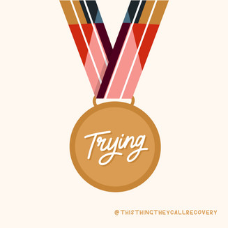 Trying Medal - This Thing They Call Reco
