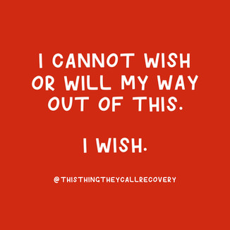 Wish My Way Out - This Thing They Call R