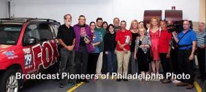 Broadcast Pioneers of Philadelphia Tour Fox 29!