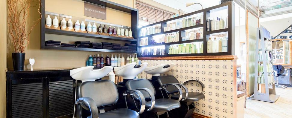 Salon backwash