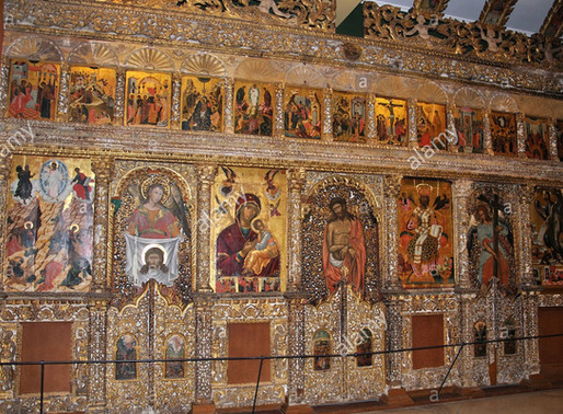 What is an ICONOSTASIS ?