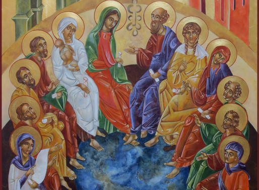 PENTECOST Icons, FILLED THE WORLD WITH SPIRIT