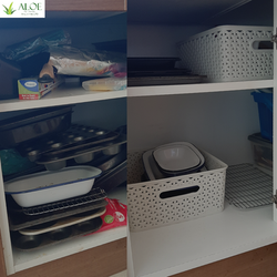 Decluttering and organising, ALOE CLeani