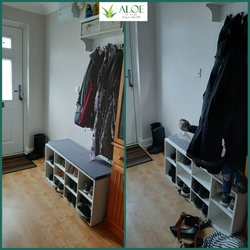 Hallway cleaning and organising, ALOE Cl
