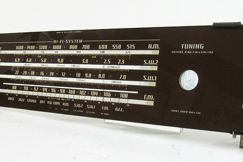 Telefunken Dial Glass