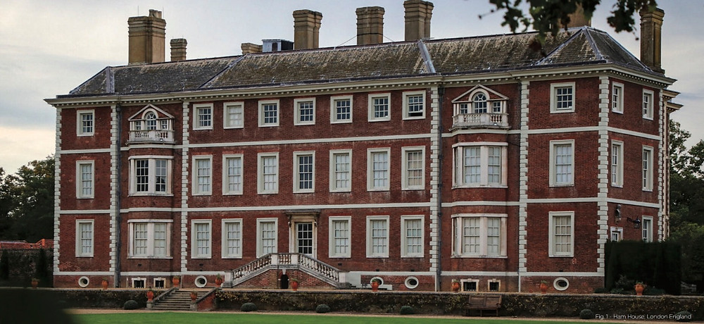 Ham House, England, classical architecture, historic home, english country house, a house in the country,