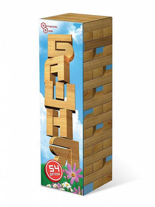 Башня 54 дет. в картонной коробке