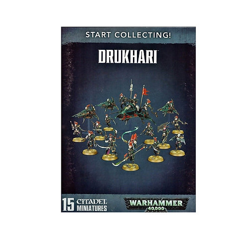 WARHAMMER 40000: Start Collecting! Drukhari (Друкхари)