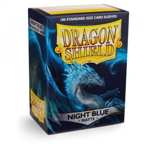Протекторы Dragon Shield матовые тёмно-синие Botan (100 шт.)