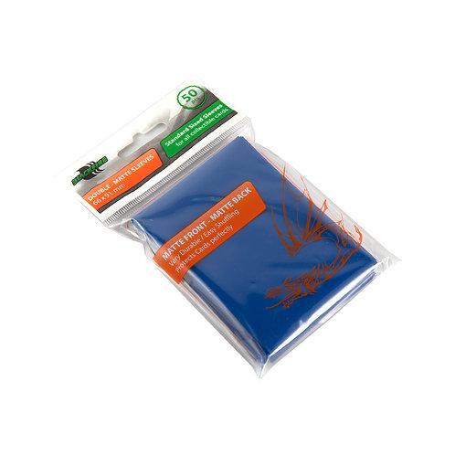 Протекторы Blackfire Double-Matte (50 шт) синие