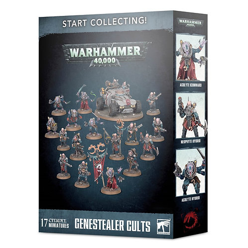 WARHAMMER 40000: Start Collecting! Genestealer Cults (Культы Генокрадов)