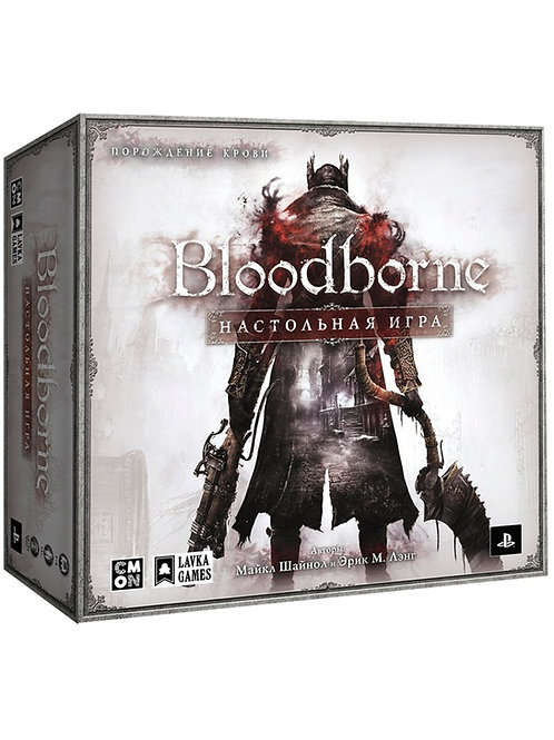 Bloodborne. Настольная игра (с миниатюрами)