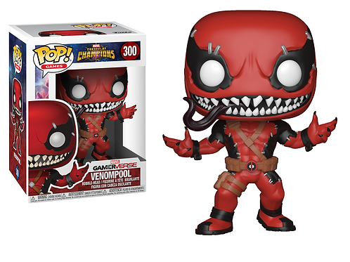 Реплика Funko POP! Marvel: Contest of Champions: Venompool 300