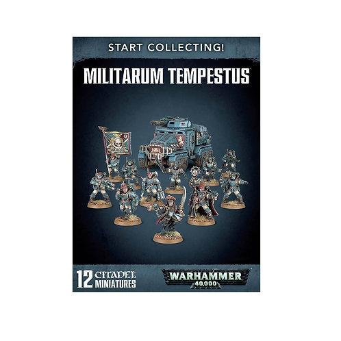 WARHAMMER 40000: Start Collecting! Militarum Tempestus (Милитарум Темпестус)