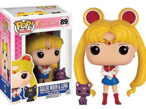 Реплика Funko POP! Sailor Moon: Sailor Moon & Luna 89