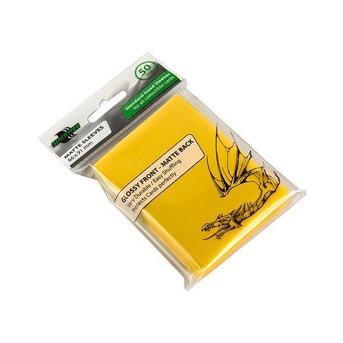 Протекторы Blackfire (50 шт) желтые