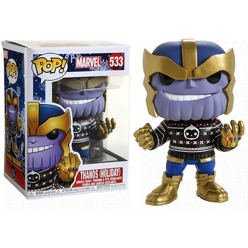 Фигурка Funko POP! Bobble: Marvel: Holiday: Thanos 533